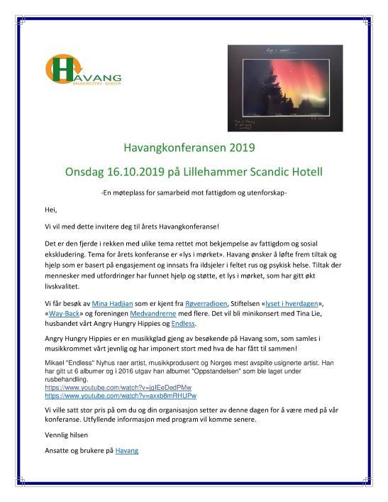 Havangkonferansen 2019 Teaser