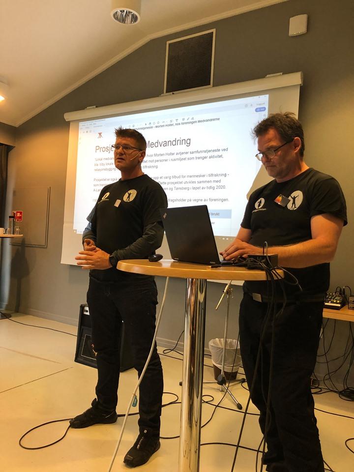 Roger og Morten Medvandrerne2